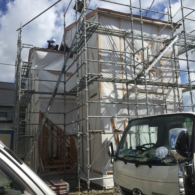 熊本市東区、H様邸上棟式(*^_^*)
